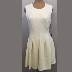 BCBGMaxAzria Off White A-Line Sheath Mini Dress